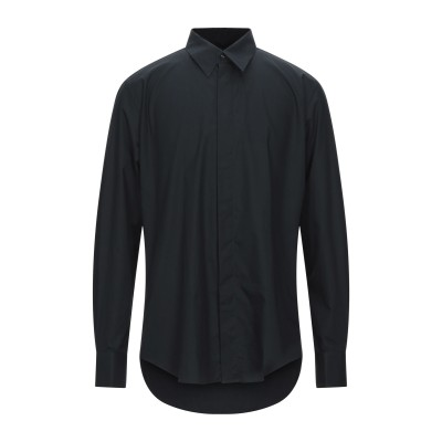 PAL ZILERI CERIMONIA シャツ ブラック 37 コットン 100% シャツ
