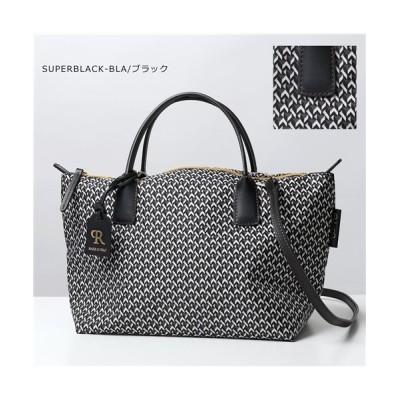 【import select Musee】 ROBERTINA SMALL DUFFLE  ショルダーバッグ ハンドバッグ ナイロン×レザー 鞄 レディース レディース ブラック / import select Musee