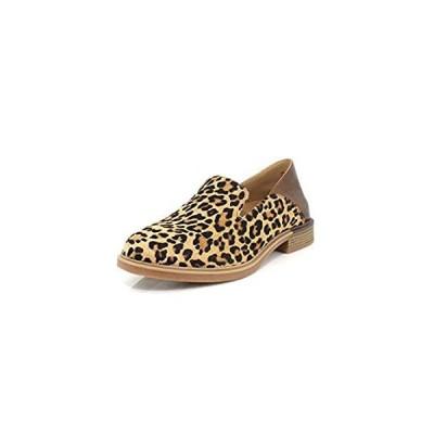 Hush Puppies Women's Bailey Slipon Shoe, Leopard Calf Hair, 06.5 M US