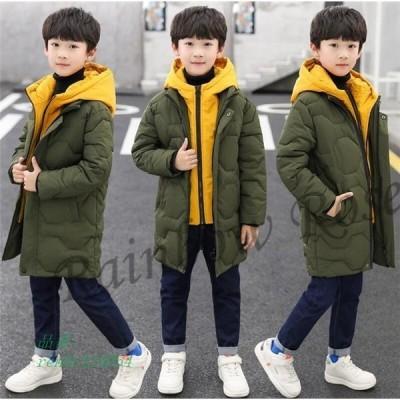 中綿コート 子ども 子供服 ジャケット 男の子 女の子 アウター 防寒 秋 ダウンコート 冬 ジュニア ダウンジャケット フード付き