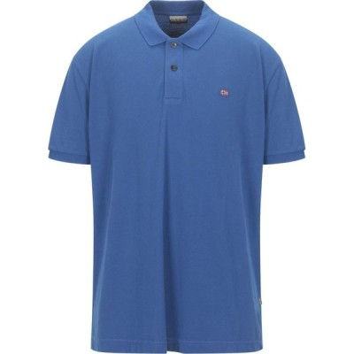 ナパピリ NAPAPIJRI メンズ ポロシャツ トップス polo shirt Blue