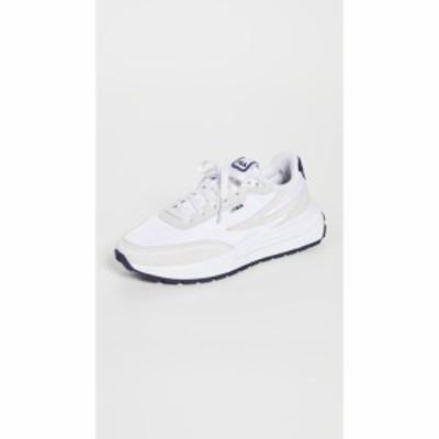 フィラ Fila レディース スニーカー シューズ・靴 Renno Sneakers White/Fila Navy/Fila Red