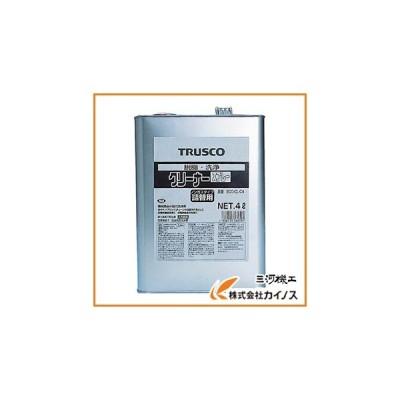 TRUSCO αクリーナー 4L ECO-CL-C4