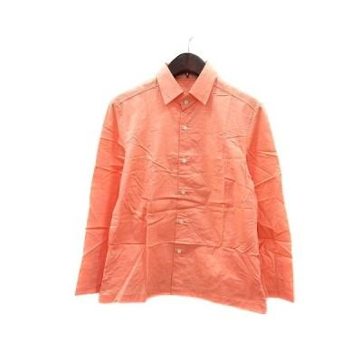 【中古】ギャルリーヴィー GALERIE VIE トゥモローランド シャツ 長袖 オレンジ /MN レディース 【ベクトル 古着】