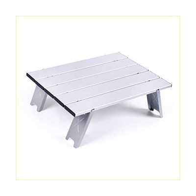 YPOD Silver Beach Table, Ultralight Portable Folding Camping Table, Small Folding Table Portable for Outdoor Camping Hiking Picnic【並行
