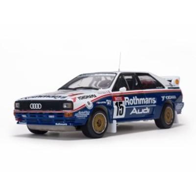 Sun Star サンスター 1:18 1981年Rally 24h ypres アウディ クワトロ A2 No.15