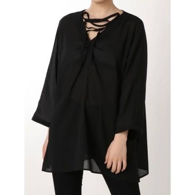 【公式】EMODA(エモダ)シアーリゾートフラワーシャツ