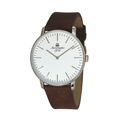 German Watch with Nice Brown Leather Strap A1439