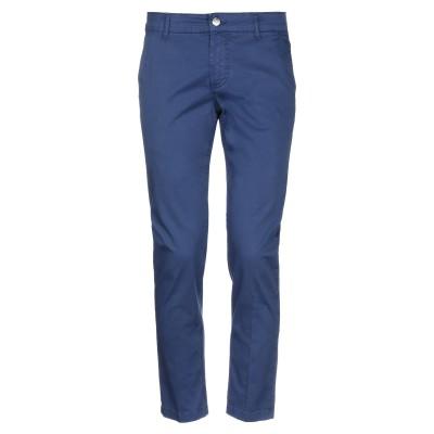 アントレ アミ ENTRE AMIS パンツ ブルー 38 コットン 97% / ポリウレタン 3% パンツ