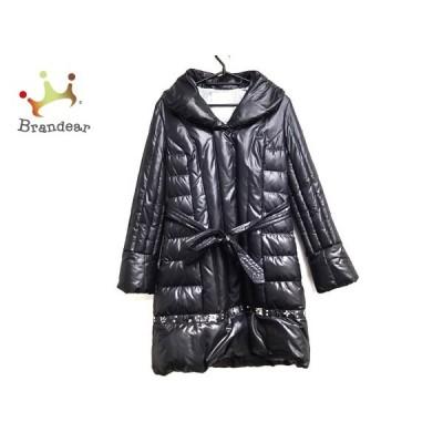 チェスティ Chesty ダウンコート サイズ0 XS レディース 美品 黒 ビジュー/フェイクパール/冬物      値下げ 20210627