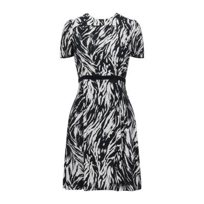 ヌメロ ヴェントゥーノ N°21 ミニワンピース&ドレス ブラック 38 レーヨン 100% ミニワンピース&ドレス