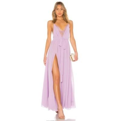 マイケル コステロ Michael Costello レディース パーティードレス ワンピース・ドレス x REVOLVE Justin Gown Lavender