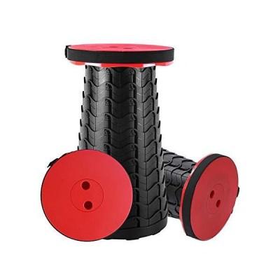 折りたたみ椅子 アウトドア チェア 伸縮式 キャンプ スツール 軽量 持ち運び【耐荷重180kg】一秒開閉でき 高さ