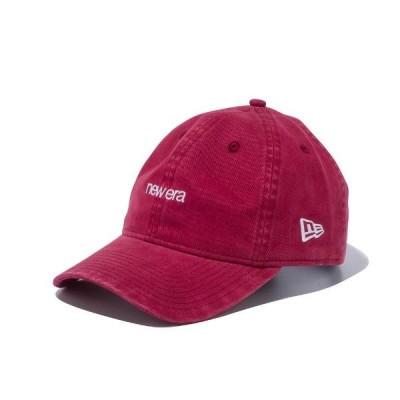 ニューエラ キャップ 帽子 メンズ レディース 無地 バーガンディー9TWENTY NEW ERA 12540844
