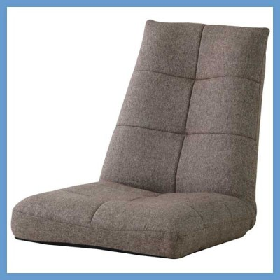 『中型』パーティバケットリクライニング座椅子/ブラウン
