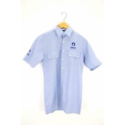 ユーケー カンパニー UK COMPANY ワークシャツ サイズ35 メンズ 【中古】【ブランド古着バズストア】