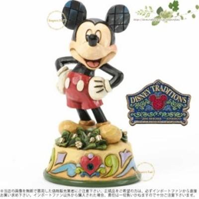 ジムショア 5月 ミッキーマウス ディズニー 誕生日祝いにおすすめ 4033962 May Mickey Mouse Figurine JimShore □