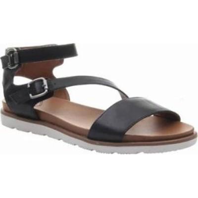 Madeline レディースサンダル Madeline As If Ankle Strap Sandal Black Synthetic