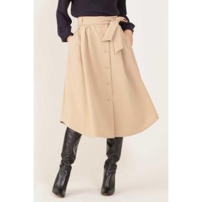 NATURAL BEAUTY / ◆[ウォッシャブル]フロントボタンスカート