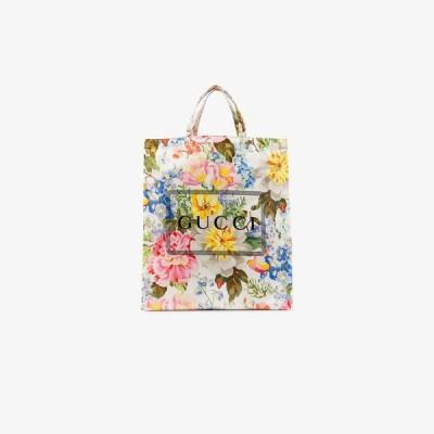 グッチ Gucci メンズ トートバッグ バッグ multicoloured floral print logo tote bag multicolour