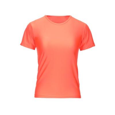 ジュンヤ ワタナベ JUNYA WATANABE T シャツ オレンジ S ナイロン 78% / ポリウレタン 22% T シャツ
