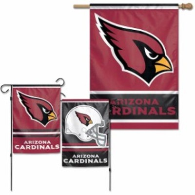 WinCraft ウィンクラフト スポーツ用品  WinCraft Arizona Cardinals House Flag and Garden Flag Pack