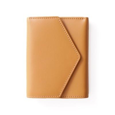 (mieno/ミーノ)[mieno]牛革レザーコンパクトミニ財布/ユニセックス キャメル