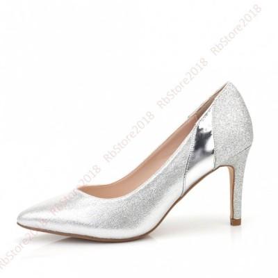 レディースシューズ ポインテッドトゥ 低反発ソール パンプス フォーマル ハイヒール 靴 ファッション 小さいサイズ 大きいサイズ 20代 30代 40代 スエード