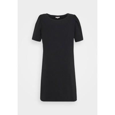オンリー カルマコマ ワンピース レディース トップス CARDINA LIFE O NECK DRESS - Day dress - black