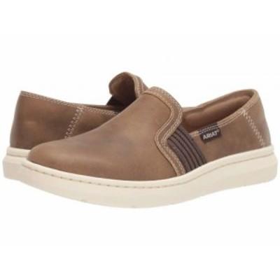 Ariat アリアト レディース 女性用 シューズ 靴 スニーカー 運動靴 Ryder Brown Bomber Leather【送料無料】
