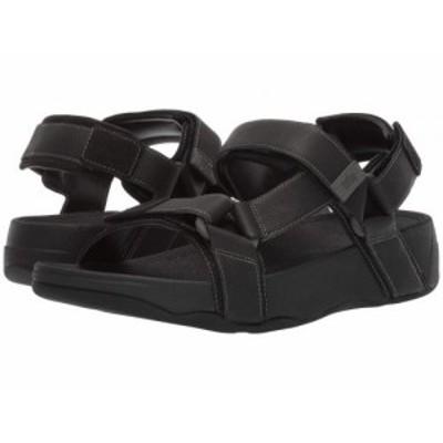 FitFlop フィットフロップ メンズ 男性用 シューズ 靴 サンダル Ryker Black【送料無料】