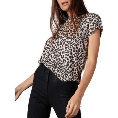 サンクチュアリ Sanctuary レディース Tシャツ トップス The Perfect Zebra-Print T-Shirt Classy Cat