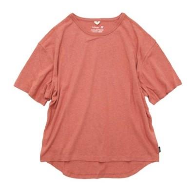 GO HEMP ゴーヘンプ レディース HONEY TEE (ピーチエコー)(Tシャツ)