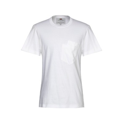 FRUIT OF THE LOOM x CEDRIC CHARLIER T シャツ ホワイト S コットン 100% T シャツ