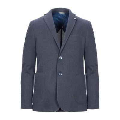 ALESSANDRO GILLES テーラードジャケット ダークブルー 50 ポリエステル 60% / コットン 40% テーラードジャケット