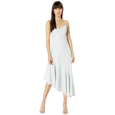 ワイフ レディース ワンピース トップス Clayton Asymmetrical Ruffle Slip Dress