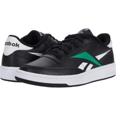 リーボック Reebok メンズ スニーカー シューズ・靴 Club C 85 MU Black/White/Emerald