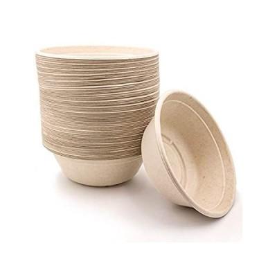 特別価格40 oz Disposable Eco Bowls Large 50 Pack Beige好評販売中