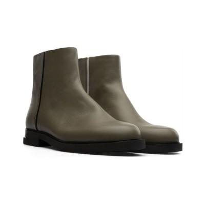 カンペール ブーツ&レインブーツ シューズ レディース Women's Twins Ankle Boots Green