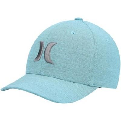 ハーレー メンズ 帽子 アクセサリー Hurley Cutback Performance Flex Hat Aqua