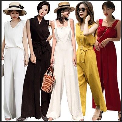 2枚送料無料 韓国ファッション/セットアップ/ レディース/ ガウチョパンツ/ スカンツ/ スカーチョ /ワンピース/ ブラウス/ フリル/ 大きいサイズ/ 2点上下セ
