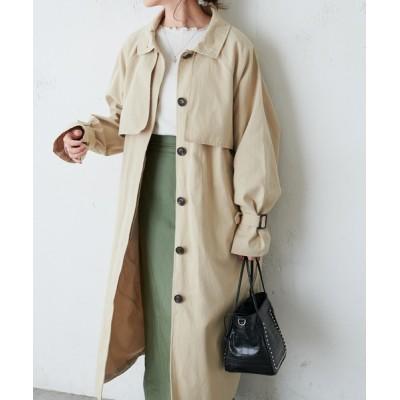 Discoat / 【ZOZO限定】スタンドカラーコート WOMEN ジャケット/アウター > トレンチコート