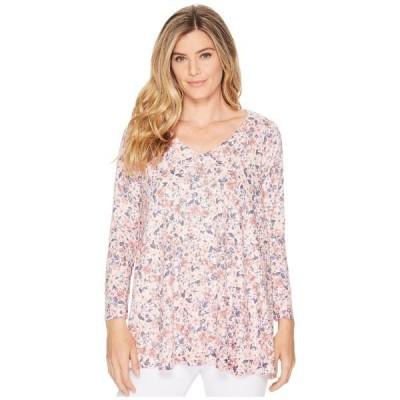 ナリーアンドミリー シャツ トップス レディース Ditsy Pink Floral Print Tunic Multi