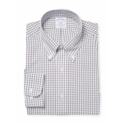 ブルックスブラザーズ メンズ ドレスシャツ ワイシャツ DS NI PBD RGNT