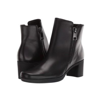 マンロー Munro レディース ブーツ シューズ・靴 Devon Black Leather