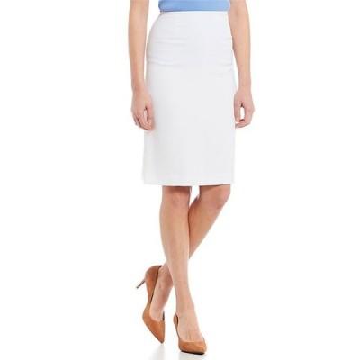プレストンアンドヨーク レディース スカート ボトムス Kelly Stretch Crepe Suiting Knee Length Pencil Skirt