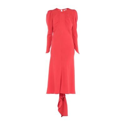 アティコ THE ATTICO ロングワンピース&ドレス レッド 42 アセテート 75% / レーヨン 25% ロングワンピース&ドレス