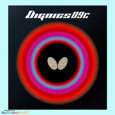 【ネコポス対象】バタフライ(Butterfly) ディグニクス09C  DIGNICS09C  06070 ブラック/レッド ピンポンハー トYahoo!店