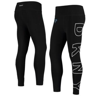 ダナ キャラン ニューヨーク レディース カジュアルパンツ ボトムス Carolina Panthers DKNY Sport Women's Eva Leggings Black