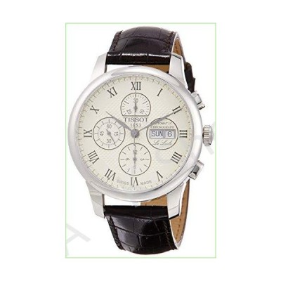 Tissot Le Locle Valjoux Chronograph Automatic Silver Dial Men's Watch T006.414.16.263.00【並行輸入品】
